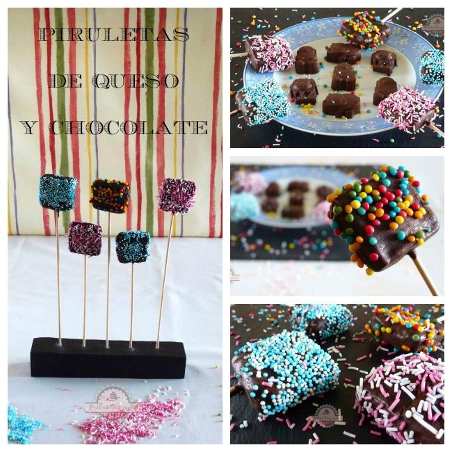 Piruletas de Queso y Chocolate Collage2
