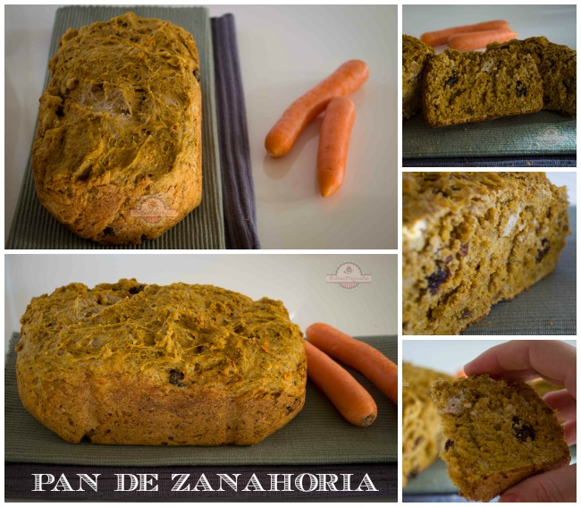 Pan de Zanahoria Collage
