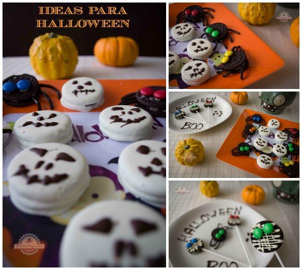 Ideas Para Halloween Con Galletas Oreo