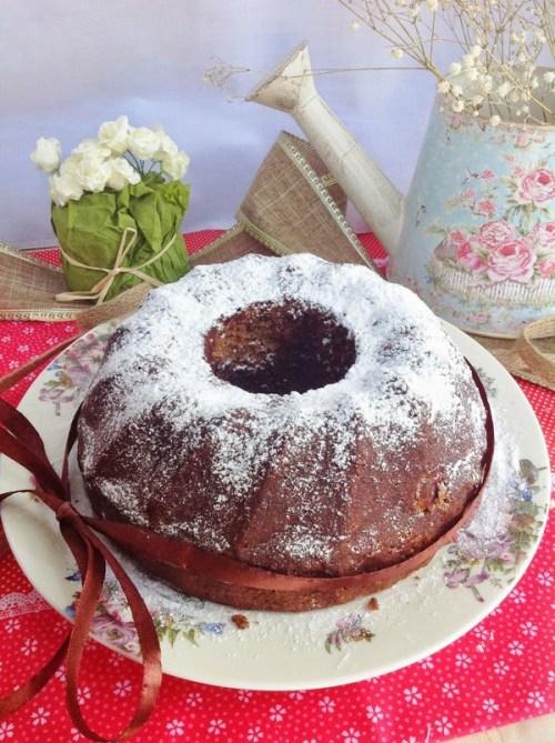 Postres con Verduras - Bund Cake de Chocolate con Patata