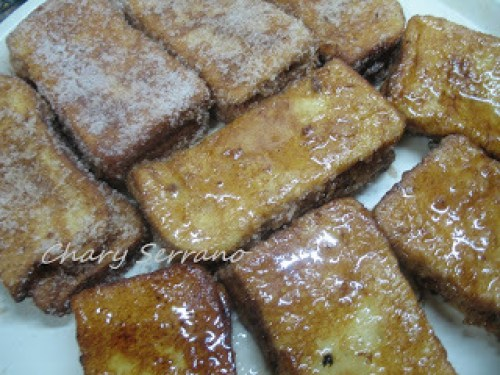 Tipos de Torrijas - Torrija Rellan de Flan y Caramelo
