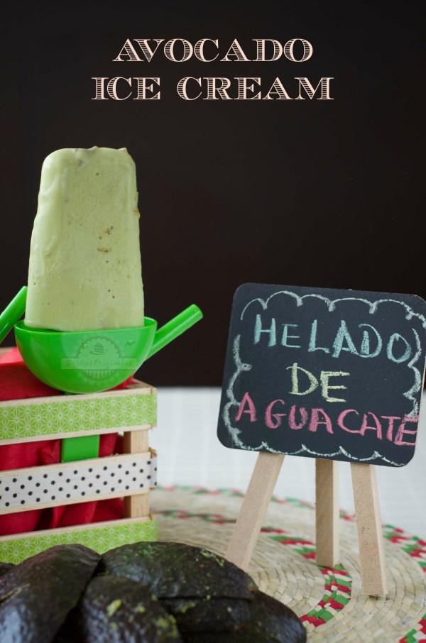 Helado de Aguacate - Texto
