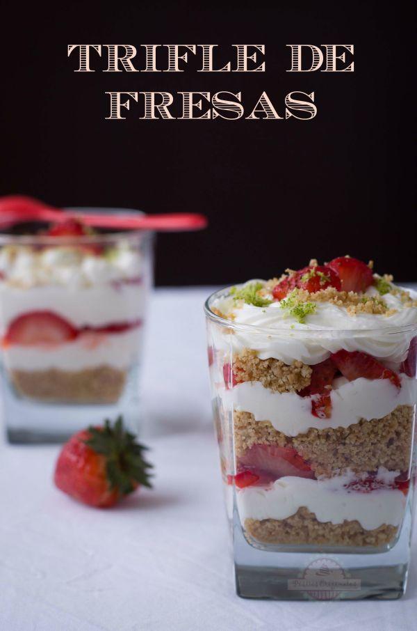 Trifle de Fresas - Texto 01