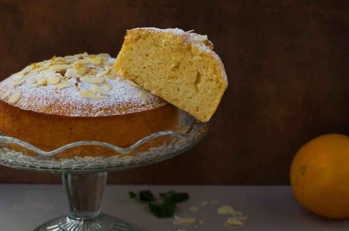 Pastel de Naranja y Almendras