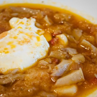 Sopa de Ajo y Setas – Sopa Castellana