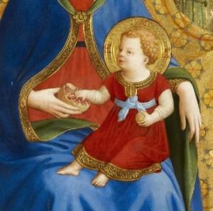 02 Madonna de la granada - Fran Angelico