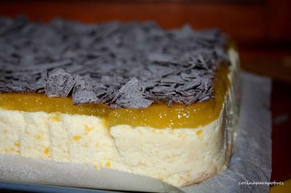 Tartas de Queso - Tarta de Queso y Mango