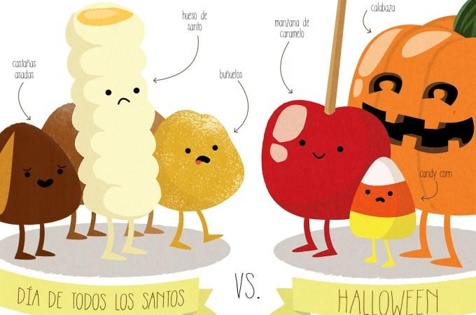 Halloween contra Todos los Santos