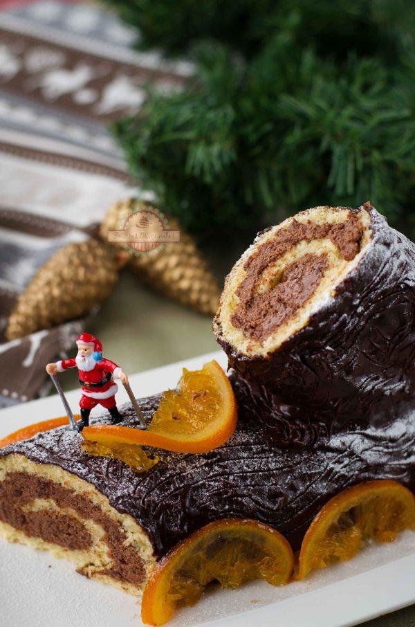 Tronco de Navidad de Trufa