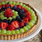 Tarta de Frutas frescas con Crema Pastelera