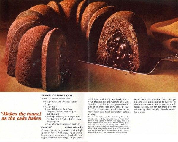 Bundt Cake - Tunel of Fudge Cake