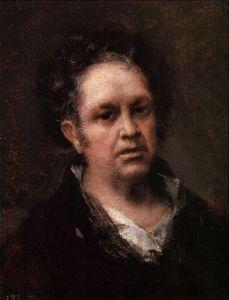 Autorretrato de Goya