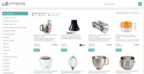 LionsHome, tu buscador de accesorios para la cocina