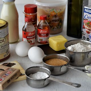 Ingredientes para reposteria