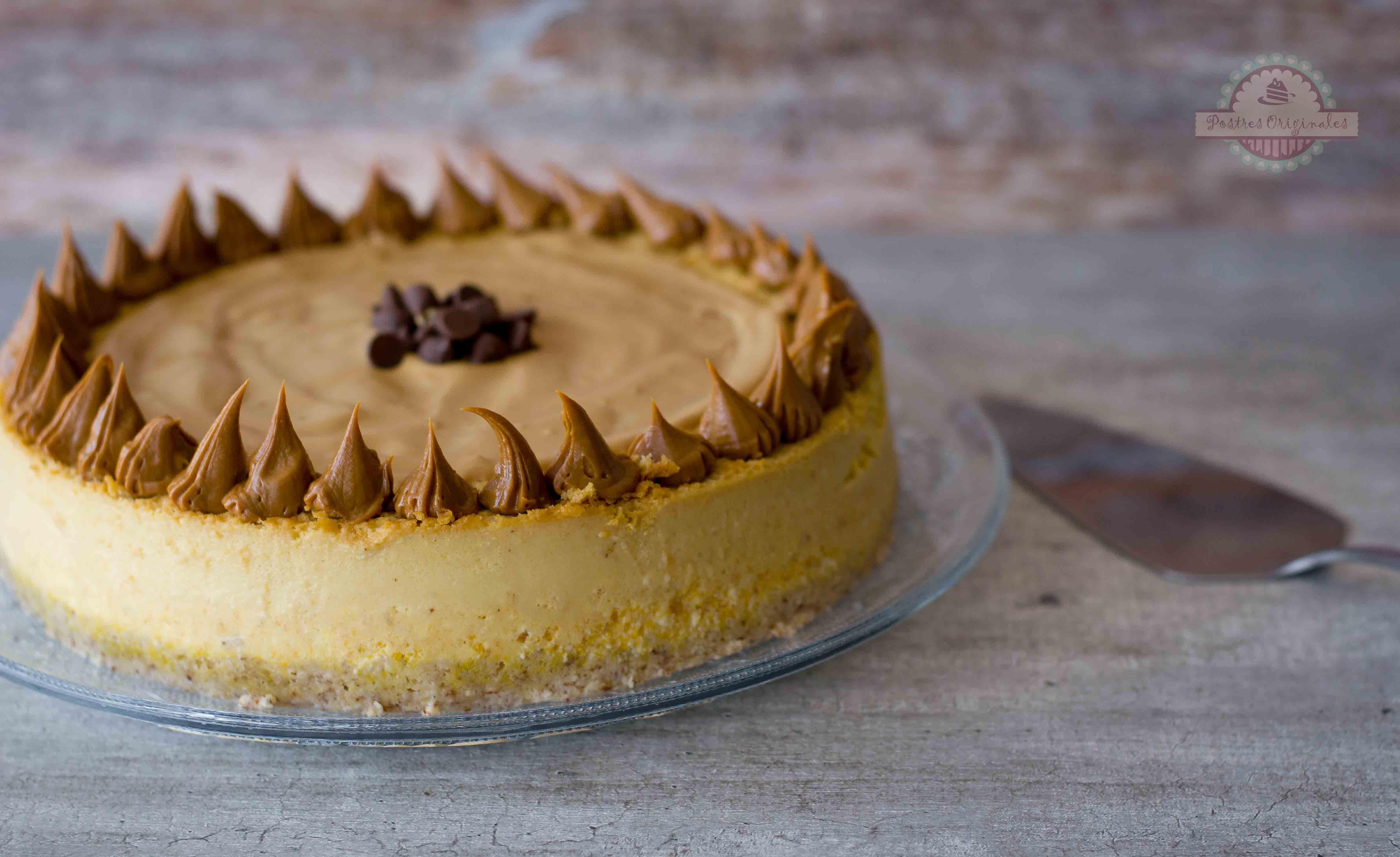 Cheesecake de Calabaza o Tarta de Queso de Calabaza