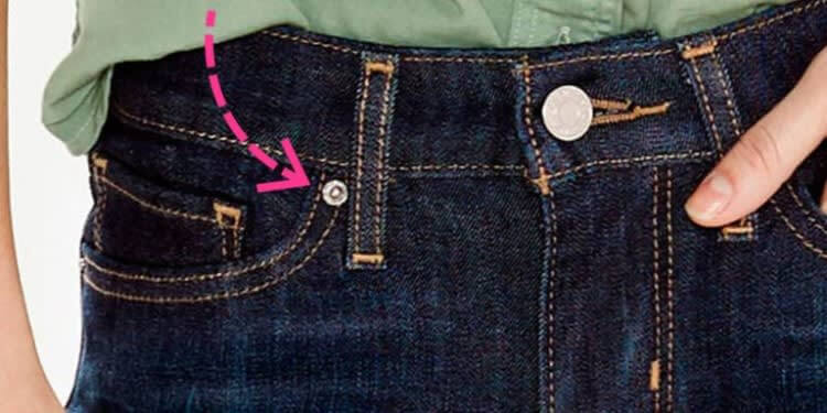 Why Place Small Buttons So Randomly On Jeans?