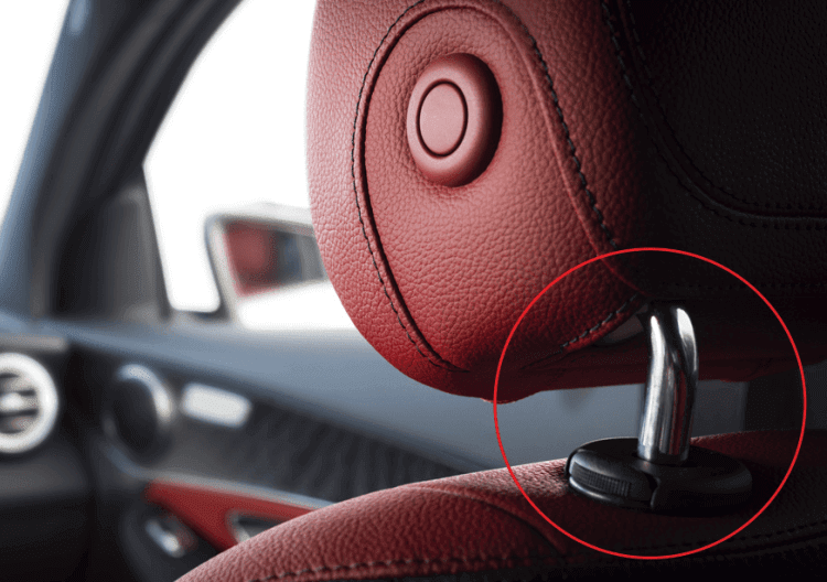 Another Use of The Detachable Headrest In Cars