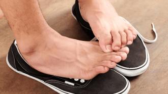 Say Goodbye To Foot Odor