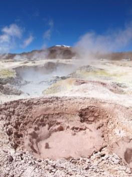 Geothermally heated mud pools, Sol de Mañana (morning sun), Bolivia