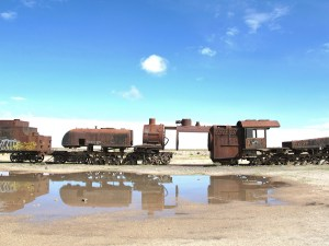 Train Cemetery in Uyuni, Bolivia, Cementerio de Trenes