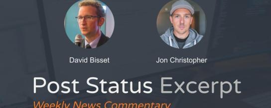 Jon Christopher with David Bisset on The Excerpt