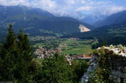 View from Stari Grad - Ursulines monastery in the distance / Widok ze Starego Zamku (Stari Grad) - w oddali klasztor urszulanek