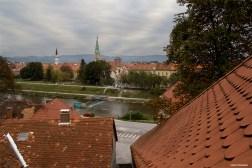 Old town view from Capuchin's monastery / Widok na stere miasto z klasztoru kapucynów