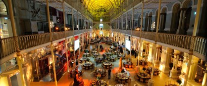 Exhibition night at the National Museum of Scotland - things to do in Edinburgh Scotland
