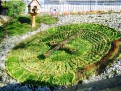 Garden Clock - things to do in Edinburgh Scotland