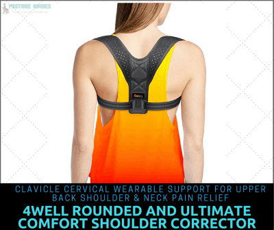 back brace for posture by 4Well