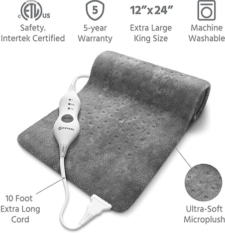 Geniani XL electric heating pad