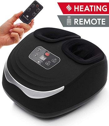Shiatsu Foot Massager Machine with Heat - Electric Feet Massager Plantar Fasciitis