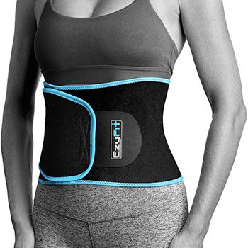 EzyFit Waist Trimmer and Workout Ab Belt