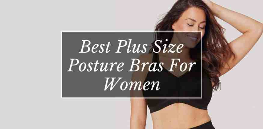 best plus size posture bras