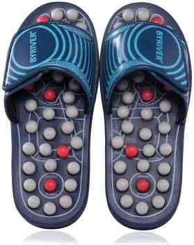 BYRIVER Reflexology Acupressure Massage Slippers