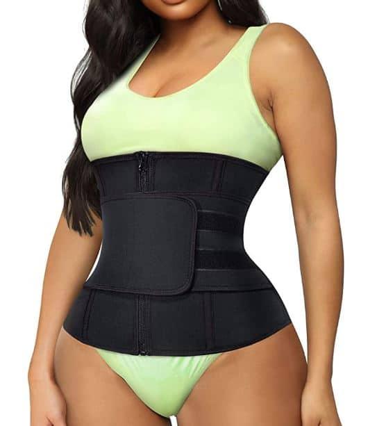 Training girl waist trainer