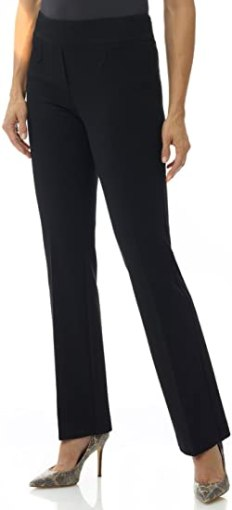 Rekucci Women's Pants with Tummy Control