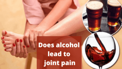 Does alcohol lead to joint pain