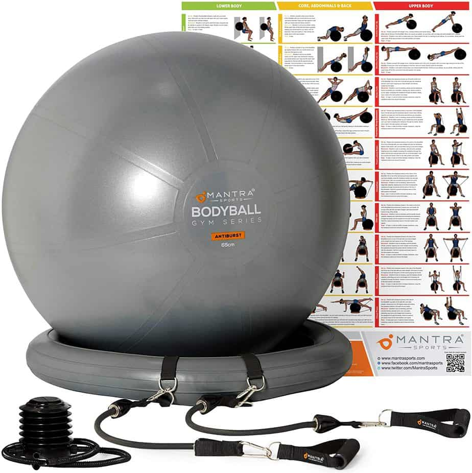 Exercise Ball Chair Yoga Fitness Pilates Ball