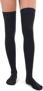thigh high compression socks