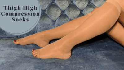 4 Thigh High Compression Socks – Our Limbs' Best Friends