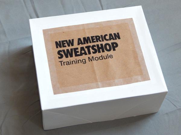 Amelia Marzec, New American Sweatshop Training Module, 2015