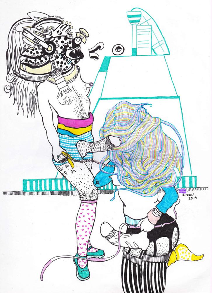Artist Rurru Mipanochia Embodies Pre-Hispanic Pop Culture