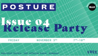 Posture Issue 04 Release Party
