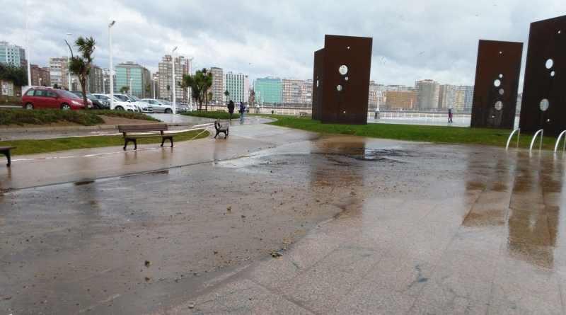 Tormentas, frió y lluvia, las previsiones para Asturias