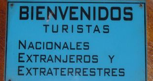 BIENVENIDOS TURISTAS