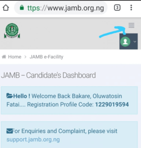 Jamb change of course form