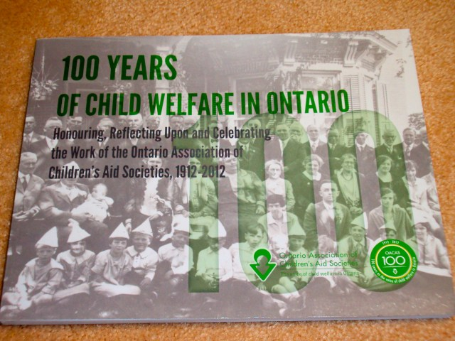100 years of Child Welfare in Ontario