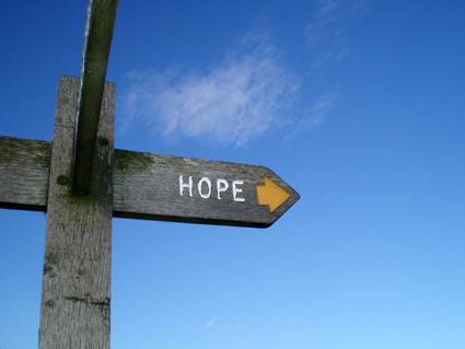 Hope -- photocourtesy of polsifter