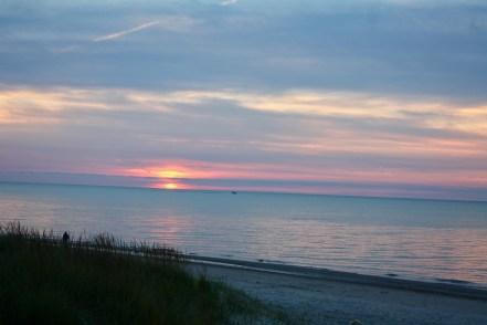 My Happy Place -- Suncset on Lake Huron